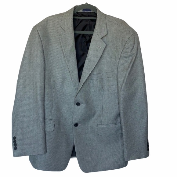 STAFFORD ESSENTIALS SPORTS COAT HOUNDSTOOTH